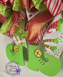 Elf Wooden Door Hanger (1)